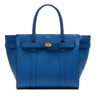 Mulberry Zipped Bayswater in Porcelain Blue