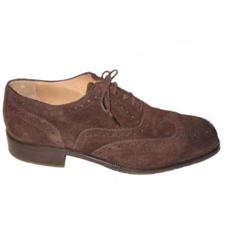 Bally Men�s Brown Suede Brogues