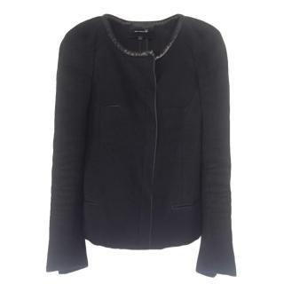 Isabel Marant Leather Trim Jacket