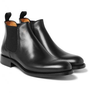 O'Keeffe Black Bristol Chelsea Boots