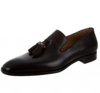 Christian Louboutin Cousin Tass Flat Calf Loafers