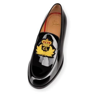 Christian Louboutin laperouse patent loafers