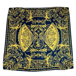 Mary Katrantzou Printed Bi-Colour Scarf