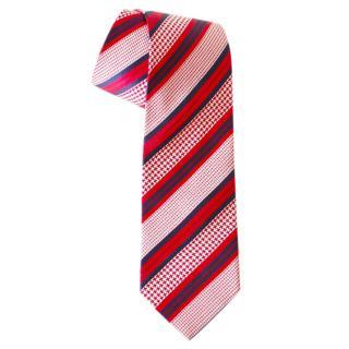 Ermenegildo Zegna Striped-Jacquard Tie