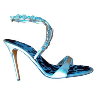 Vicini Embellished Leather Sandals