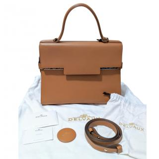 Delvaux Temp�te GM Leather Bag