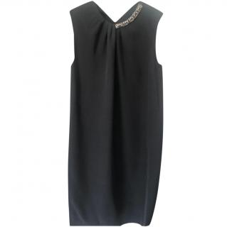 Philip Lim Embellished Collar Shift Dress