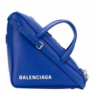 Balenciaga Blue Balenciaga Triangle Duffle S Bag - New Season