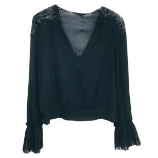 La Perla Black Lace Top