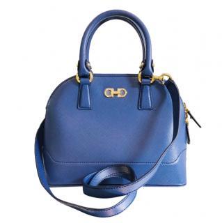 Salvatore Ferragamo Royal Blue Top Handle Bag