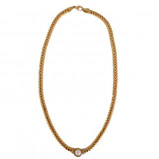 Vintage Pearl Gold Set Necklace
