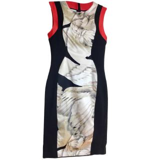 Giles Printed Sleeveless Dress, size 42 Immaculate