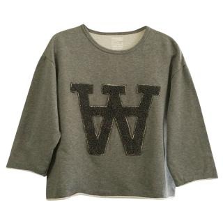 Wood Wood grey sweatshirt