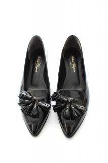 Robert Clergerie Patent Leather Pointed Toe Shoes