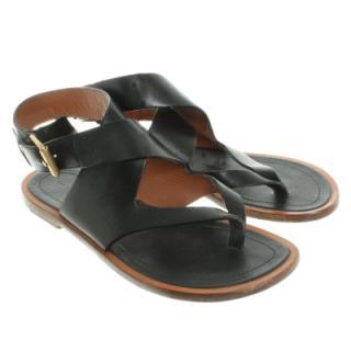 Celine Criss Cross Sandals