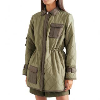 Ganni Ripstop Quilt Jacket - Current Season