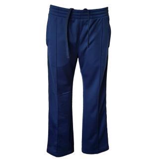 Gucci Side-Stripe Navy Track Pants