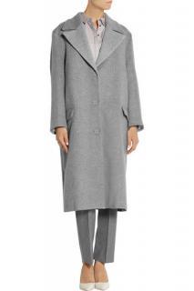 Richard Nicoll Grey Wool Coat