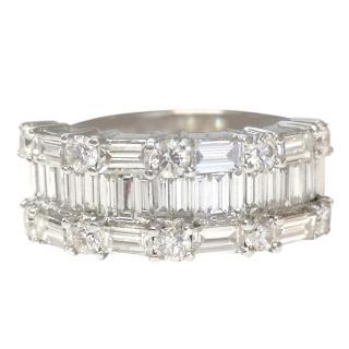 Bespoke 2.48ct Diamond 18ct White Gold Ring