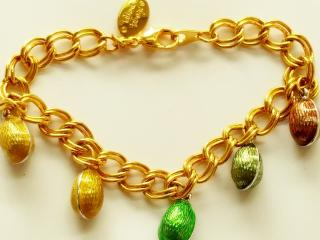 Tatiana Faberge Gold-Plated Bracelet