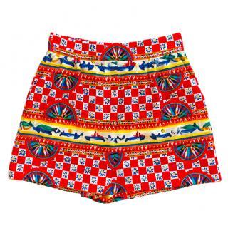 835c52fb6fe Dolce   Gabbana Caretto Print Shorts