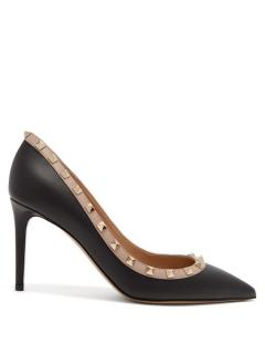 Valentino Rockstud Leather Pumps
