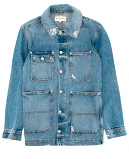 SLVRLAKE Worker Light-wash Denim Jacket