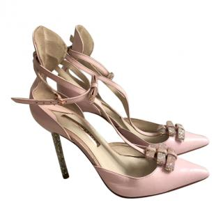 Sophia Webster Glitter-Heel Pumps