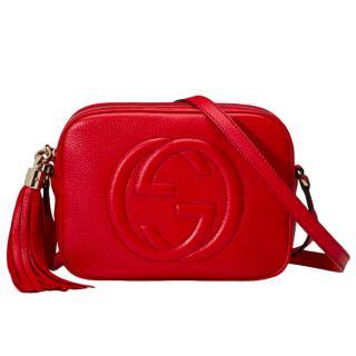ca98a271415 Gucci Soho Disco Red Bag