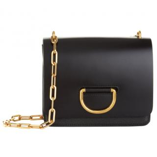 Burberry Small D-Ring Chain Strap Bag In Black