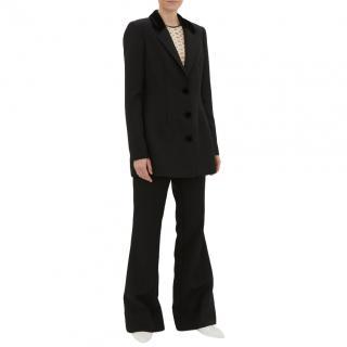 By Malene Birger Black Wool-Twill Suit - New Season