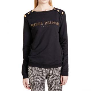 Pierre Balmain Logo-Print Sweatshirt