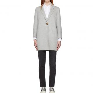 Acne Studio Double-Faced Grey Coat