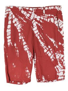 Issey Miyake zip front men's shorts