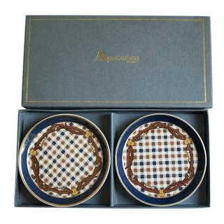 Aquascutum Checked Plate Set