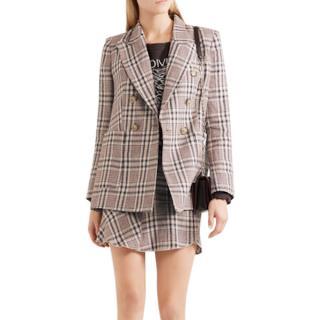 Isabel Marant Janey Checked Blazer