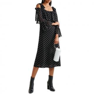 Ganni Polka Dot Monette Dress
