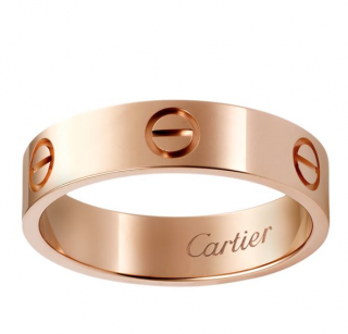 Cartier Rose Gold Love Ring - Size 49
