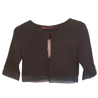Max Mara Cropped Knit Cardigan