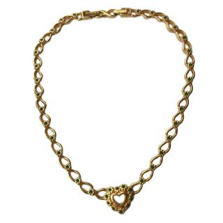Nina Ricci Vintage Couture Crystal Necklace