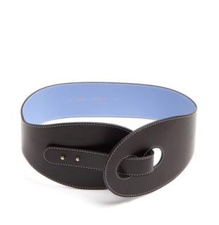 Roksanda Leather Two Tone Belt