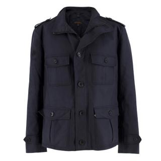 Louis Vuitton Men's Navy Parka