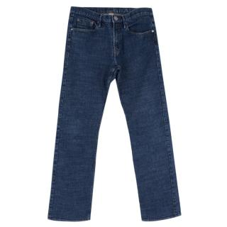 Burberry Men's Straight Fit Blue Jeans