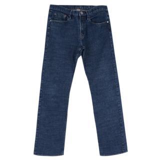 Burberry Men's Straight Fit Blue Jeans
