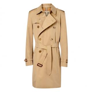 Burberry The Kensington Mid Packable Trench Coat