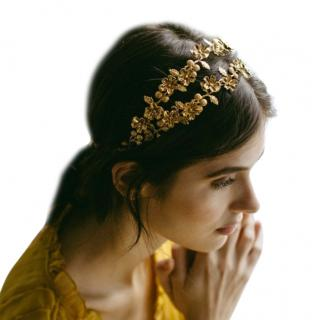 Jennifer Behr Gold Adele Circlet - New Season