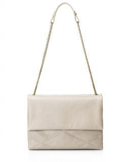 Lanvin Medium Sugar Ivory Leather Bag