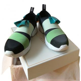 Emilio Pucci Ruffle Sneakers - Current Season