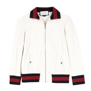 d8f9b08a350 Gucci Girls  Off White Jacket