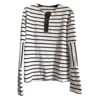 Markus Lupfer Striped Long-Sleeved Top